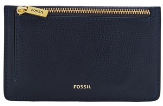 Fossil Logan Card Case Wallet Black