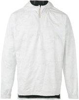 adidas zipped neck hoodie - men - Cotton/Polyester/Polyethylene - S