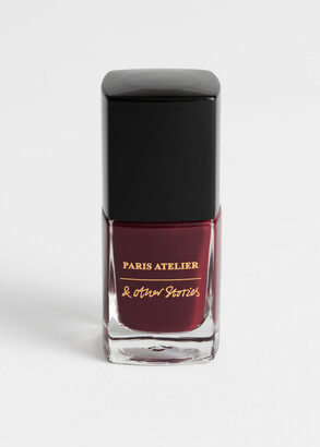 And other stories Maroon Joie Nail Polish