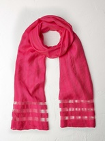 White Stuff Window pane scarf