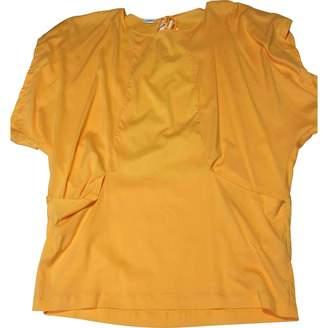 La Perla \N Orange Cotton Top for Women