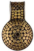 John Hardy Two-Tone Dot Pendant Enhancer