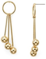 Aqua Oriana Triple Stack Ball Earrings - 100% Exclusive