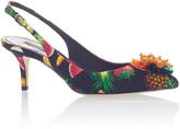 Dolce & Gabbana Printed Slingback Pumps