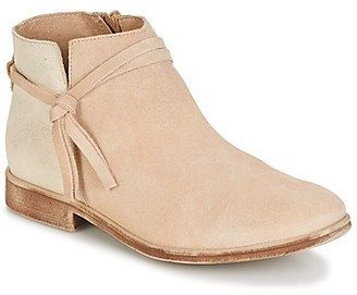 Casual Attitude CYMRICO women's Mid Boots in Beige
