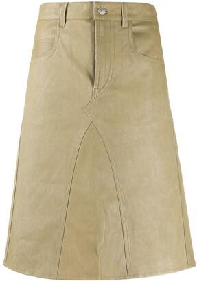 Etoile Isabel Marant Fiali A-line skirt