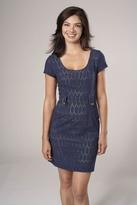 Corey Lynn Calter Samantha Day Dress in Blue