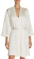 GINIA Silk Wrap Robe