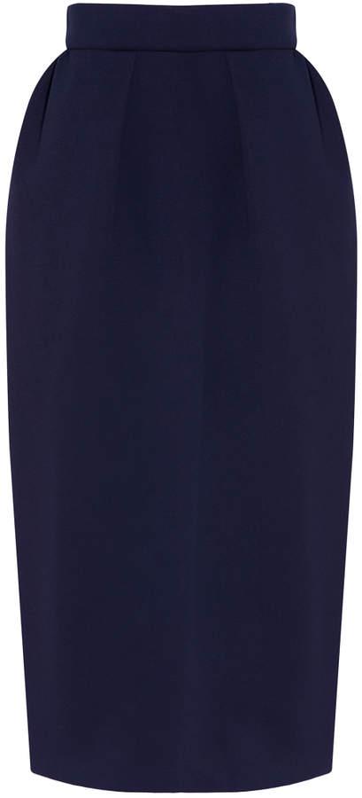 DELPOZO Neoprene Pencil Skirt