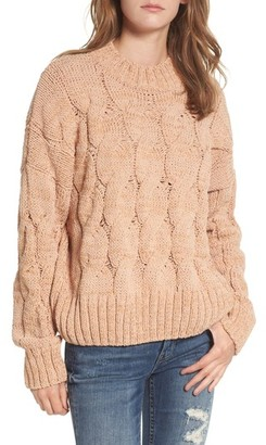 Moon River Cable Knit Sweater