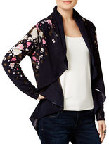 I.N.C International Concepts Petite Open-Front Cardigan