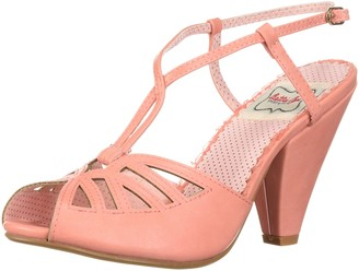 Bettie Page Women's 403-Aria Sandal Nude 8