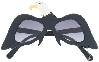 Stella McCartney Eagle Oversized Sunglasses