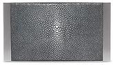Calvin Klein Stingray + Brushed Metal Box Clutch