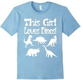 This Girl Loves Dino's Tee Shirt