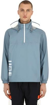 Anorak Rain Jacket W/ Detachable Hood