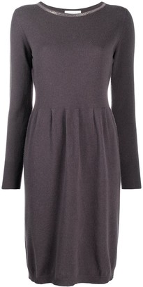 Fabiana Filippi Monili Embellished Jumper Dress