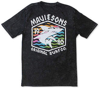 Maui and Sons Men Surf Thrasher Logo Graphic T-Shirt