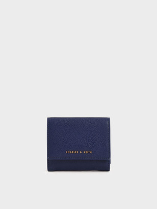Charles & Keith Mini Snap-Button Small Wallet