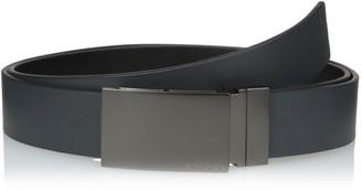 Calvin Klein Men's Embossed to Smooth Reversible Belt
