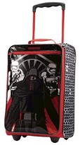 "American Tourister Star Wars Kylo Ren StromTrooper Softside Carry On Luggage - Red/black (18"")"