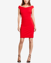 Lauren Ralph Lauren Jersey Off-The-Shoulder Dress