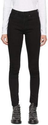 Rag & Bone Black Nina Skinny Jeans