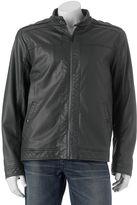 Apt. 9 Men's Modern-Fit Textured Faux-Leather Jacket