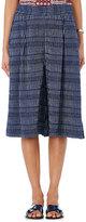 Ace&Jig Women's Drifter Wide-Leg Culottes-BLUE, WHITE