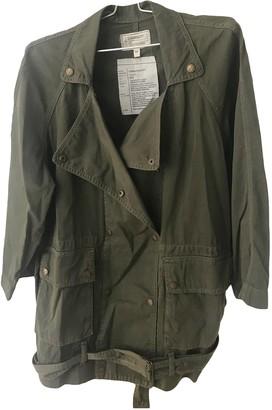 Current/Elliott Current Elliott Khaki Cotton Jackets