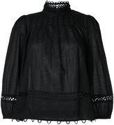 Apiece Apart lace trim blouse - women - Cotton - 4