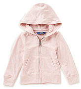 Ralph Lauren Big Girls 7-16 French Terry Hoodie Jacket