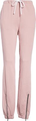 Cotton Citizen Milan Zip Ankle Jogger Pants