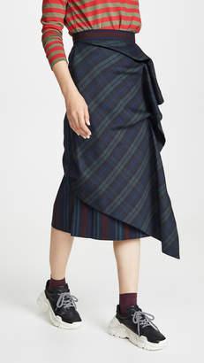 pushBUTTON Sway Midi Skirt