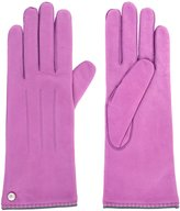 Coach Womens 221 Leather & Cashmere Gloves