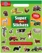 Asstd National Brand Super Farm Stickers Activity Book