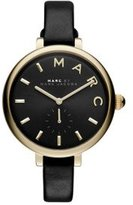 Marc Jacobs Women's Sally Black Leather Watch - MJ1416