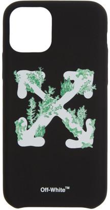 Off-White Black Corals iPhone 11 Pro Case
