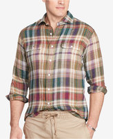 Polo Ralph Lauren Men's Big & Tall Plaid Workshirt