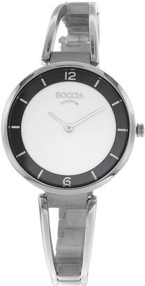 Boccia Womens Analogue Quartz Watch with Titanium Strap 3260-01