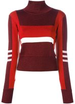 Emilio Pucci high neck cropped pullover - women - Acetate/Polyester/Nylon - M