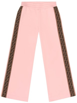 Fendi Kids Cotton-blend trackpants