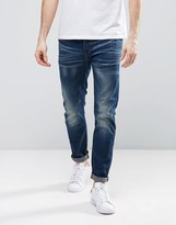 G-star 3301 Slim Jeans In Medium Aged