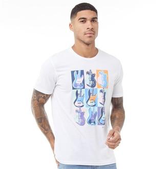 Ben Sherman Warhol Print T-Shirt White