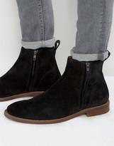 Aldo Bilissi Suede Chelsea Boots