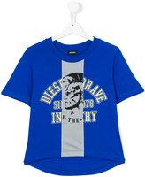 Diesel printed T-shirt - kids - Cotton - 8 yrs