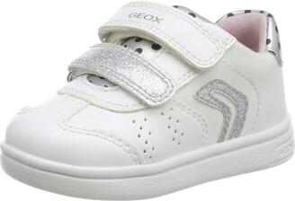Geox Girl's Djrock Polka Dot Sneakers Shoe