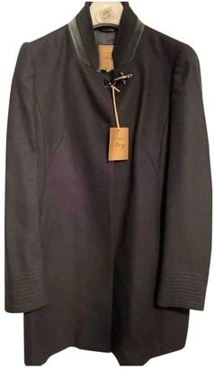 Fay Black Wool Coat for Women