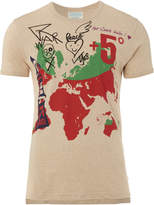 Vivienne Westwood World Map T-Shirt Size XS