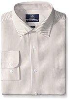 Dockers Khaki Stripe Classic Shirt - Button Down Collar